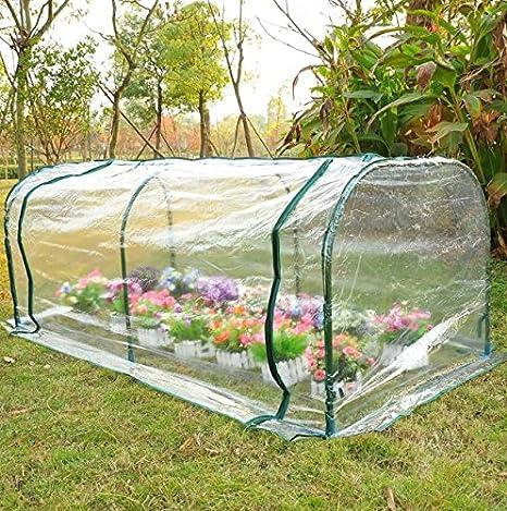 Portátil para exteriores Mini caliente de efecto invernadero jardín casa flor planta + Ebook: Amazon.es: Jardín
