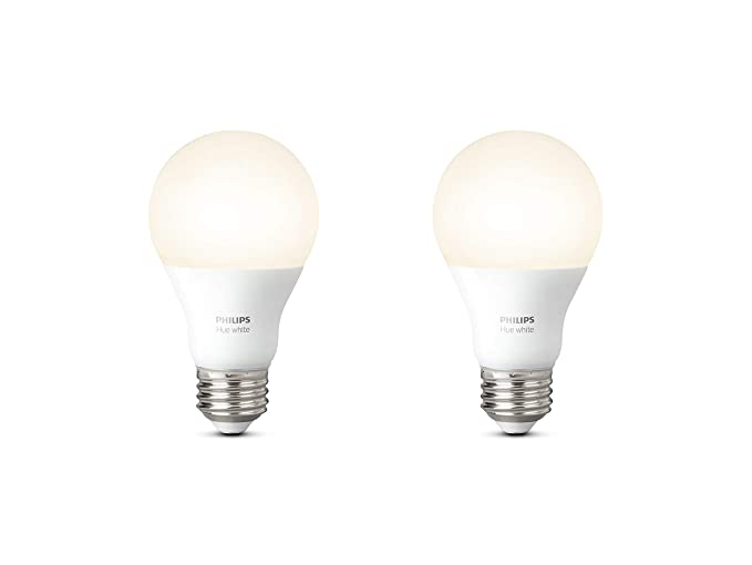 Philips lighting hue white lampadine led attacco e27 9 w 2 pezzi