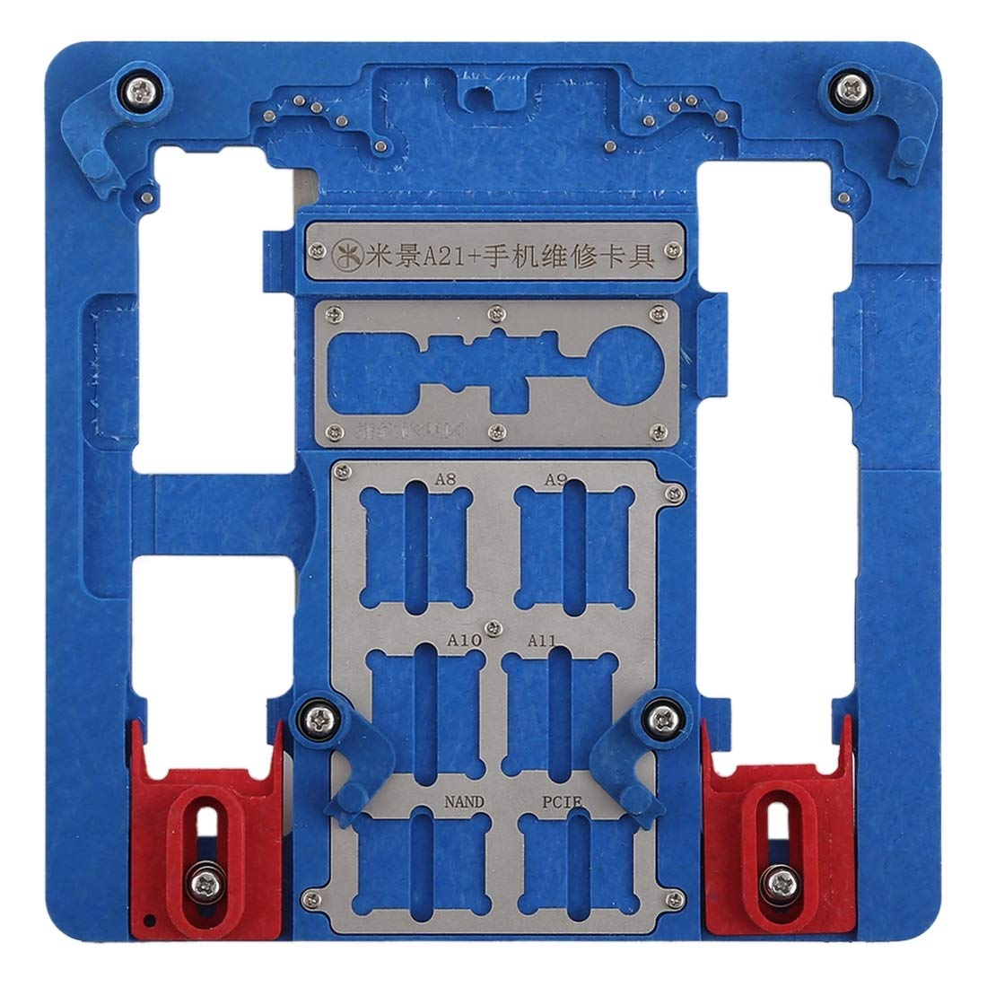 Professional Cell Phone Accessory Kits Professional A21 Phone Motherboard Repairing Fixing Holder for iPhone 8 Plus / 8/7 Plus / 7 / 6s Plus / 6s / 6 Plus / 6 / 5s by DINGGUANGHE-PHONE REPAIR TOOL