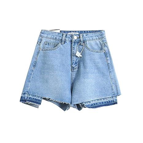 Pantalones cortos de mujer Jeans caliente Pantalones cortos ...