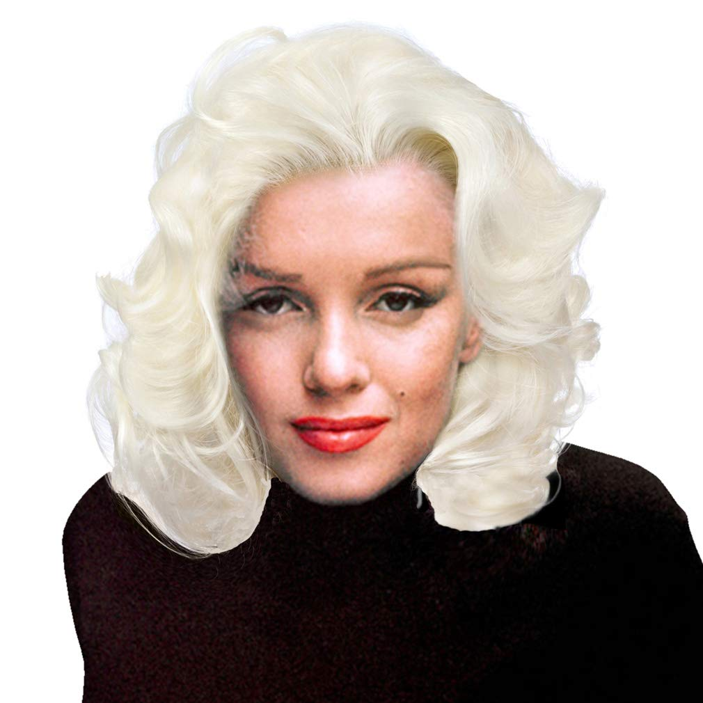 Wavy Short Blonde Wig