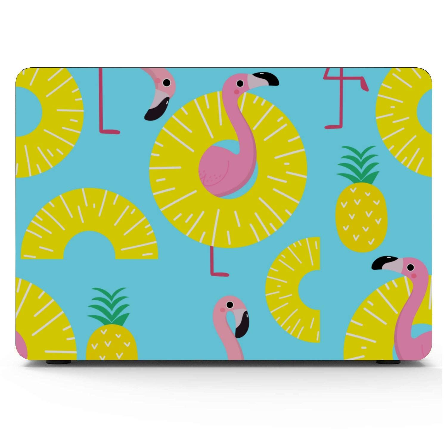 Mac Cases Summer Fashion Cute Fruit Pineapple Plastic Hard Shell Compatible Mac Air 11 Pro 13 15 MacBook Pro Screen Protector Protection for MacBook 2016-2019 Version