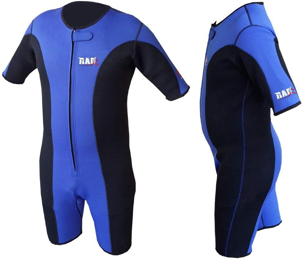 RAD Sweat Suit Neoprene Weight Loss Sauna Suit Workout Fitness Slimming Shorts Gym Training