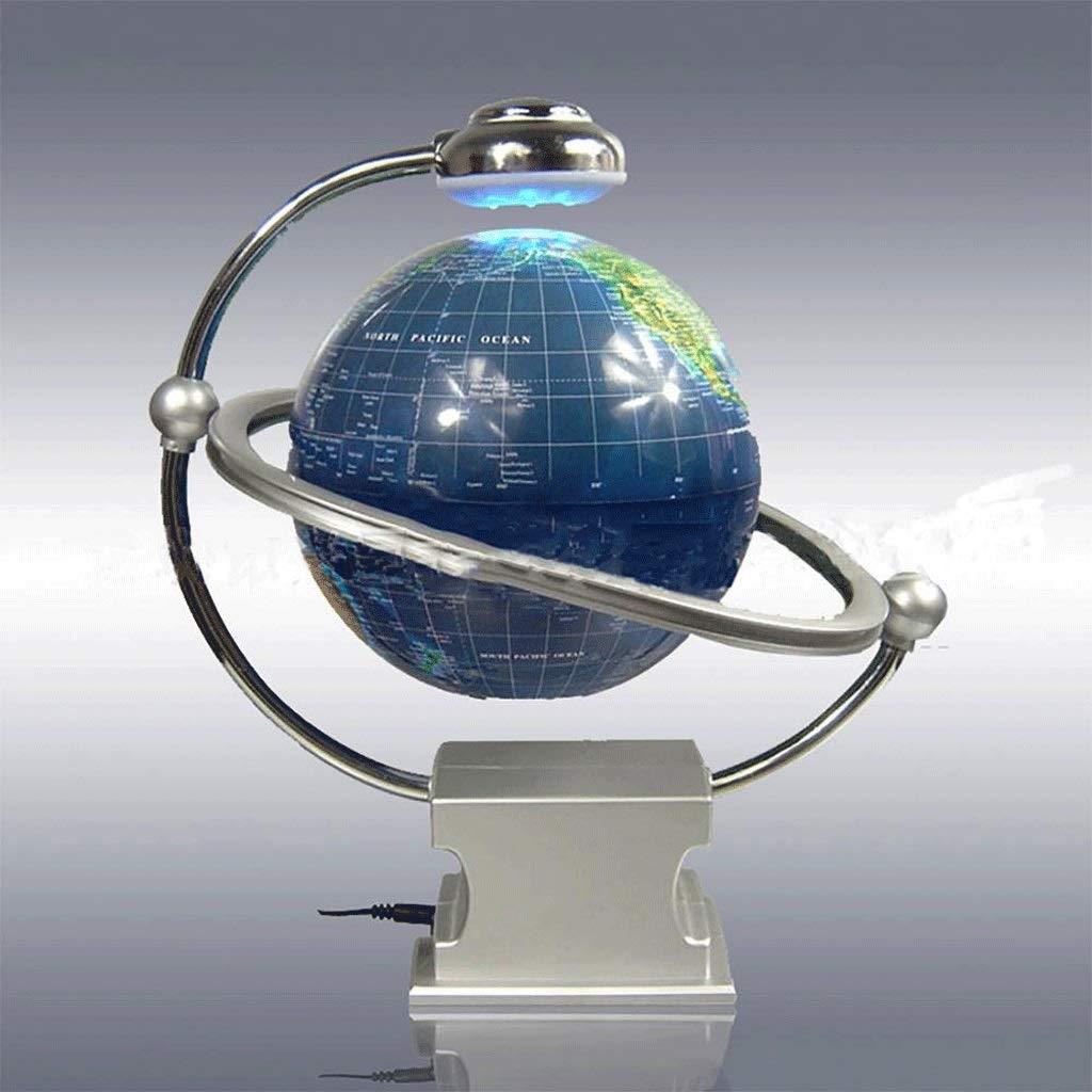 XAJGW 6  Magnetschwebebahn Floating Globe Anti Schwerkraft Rotierende Weltkarte mit LED-Licht f/ür Kinder P/ädagogisches Geschenk Home Office Schreibtisch Dekoration
