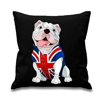 Amazon.com: Tribal T-Shirts Bulldog Británico Union Jack ...