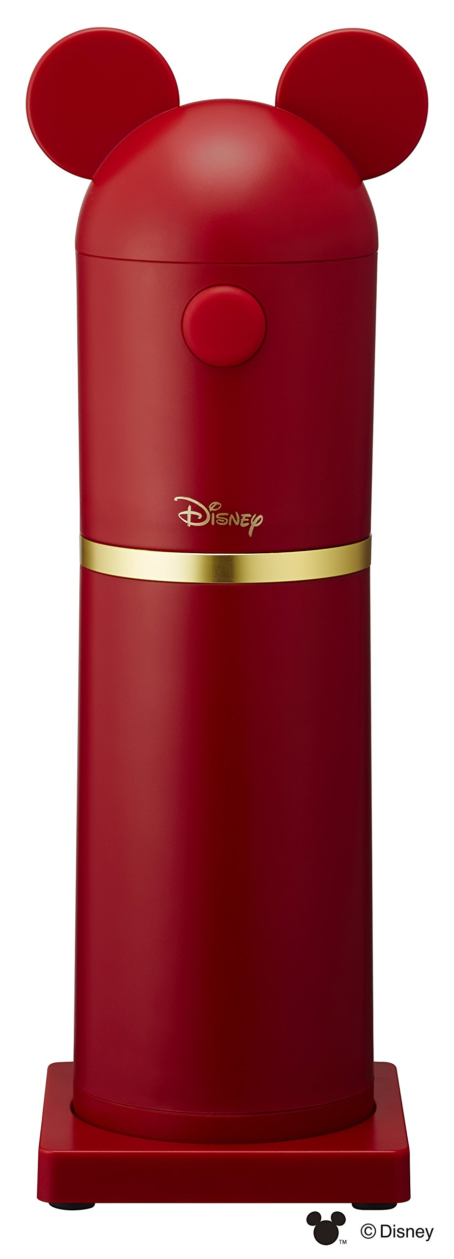 DOSHISHA Disney Series Shaved ice machine DHISD-17RD (Red)【Japan Domestic genuine products】