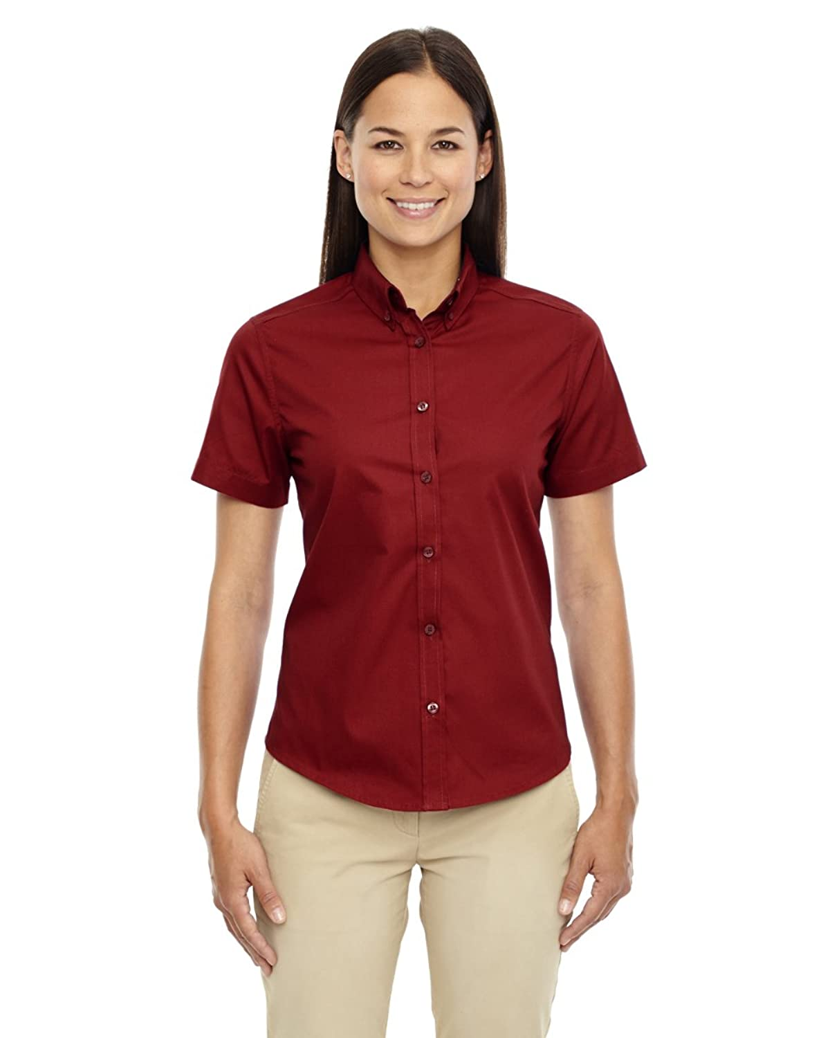Ash City Core 365 78194 - OPTIMUM CORE 365TM LADIES' SHORT SLEEVE TWILL SHIRTS