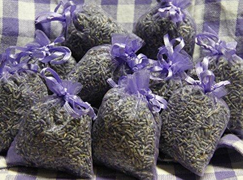Amazon.de: 10 x Lavendelsäckchen mit echtem französischen Lavendel ...
