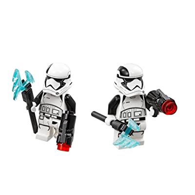 LEGO Star Wars Lot of 2 Episode 8 Minifigures - First Order Stormtrooper Executioner (75197): Toys & Games