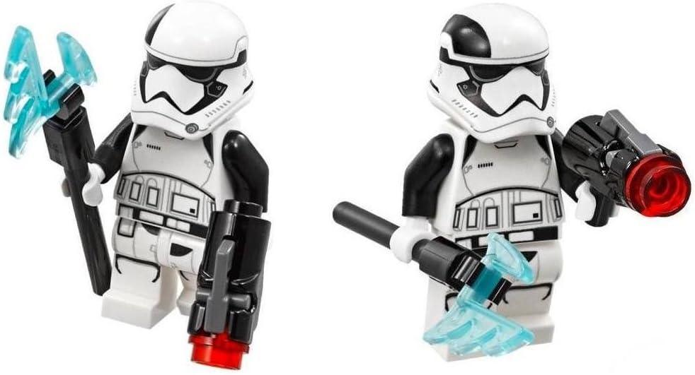 LEGO Star Wars Lot of 2 Episode 8 Minifigures - First Order Stormtrooper Executioner (75197)