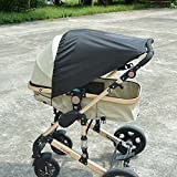 E-LU Baby Sunshade with UV Protection Car Seat Sun Shade Cover Sun Shade for Pushchair/Pram