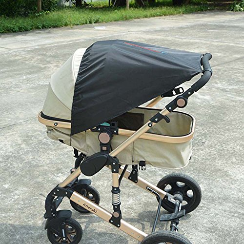 New design Baby Sunshade With UV Protection Car Seat Sun Shade Cover Sun Shade for Pushchair/Pram by E-LU
