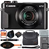 Canon PowerShot G7 X Mark II 20.1MP 4.2x Optical Zoom Digital Camera and Built-in WiFi/NFC (Basic Bundle)