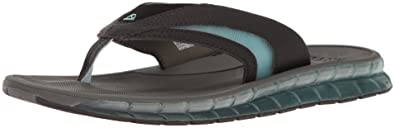 Mens Boster Flip-Flop, Charcoal/Blue, 7 UK Reef