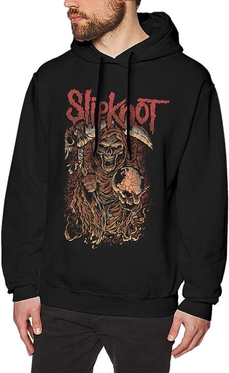 Imagen deADUUOS Mens Long Sleeve Sweatshirts Mans Hoodies Black