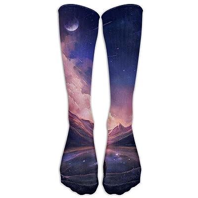 Women Fancy Fondos Para Iphone High Tube Socks Over-the-Calf Socks