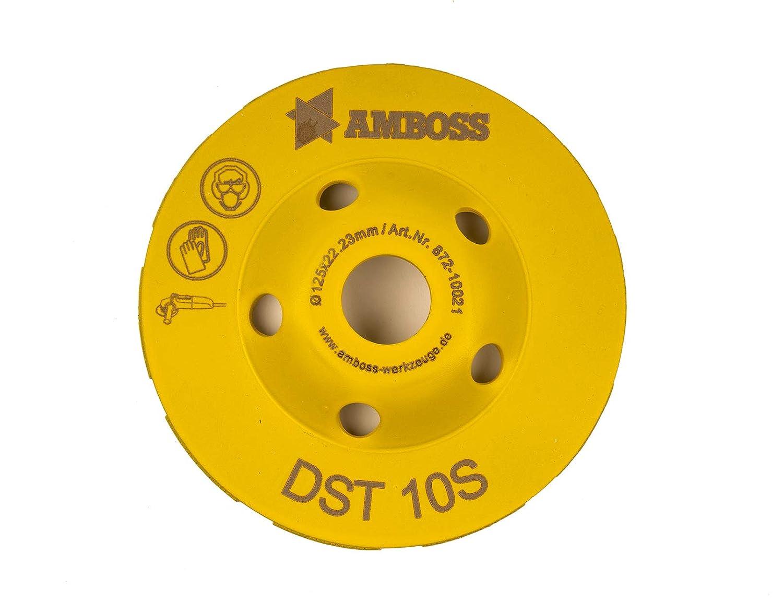 Amboss DST 10S Diamant Schleiftopf /Ø 115 mm x 22,2 mm Universeller Einsatz