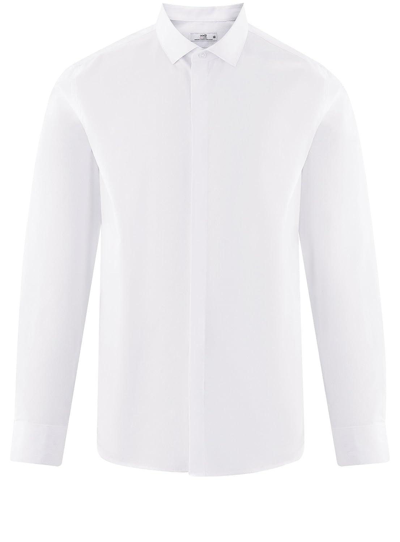 oodji Ultra Uomo Camicia Basic in Cotone