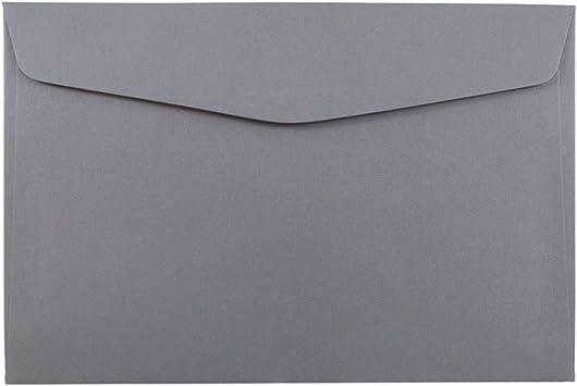 100//Pack Dark Orange JAM PAPER 6 x 9 Open End Catalog Premium Envelopes