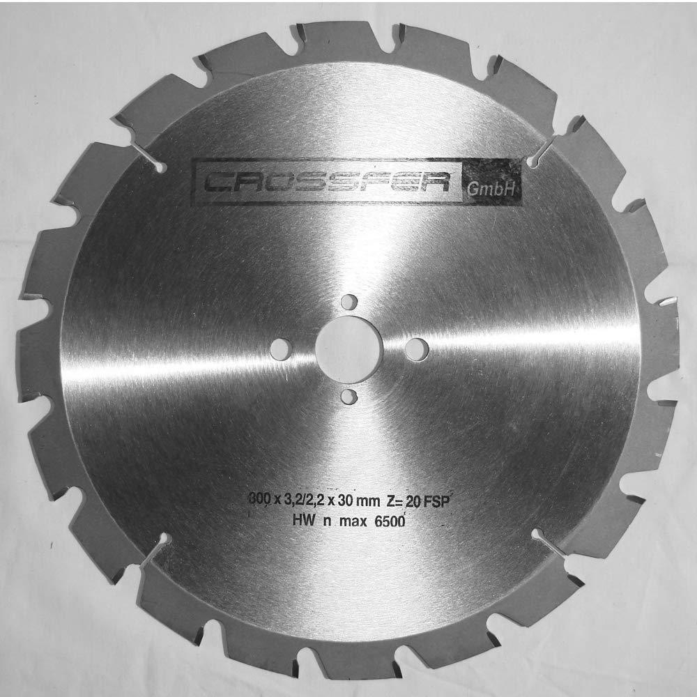 300 mm NAGELFESTES HM S/ägeblatt Holz-Grobschnitt SB-NF300 300x3,2//2,2x30 Z20 FSP