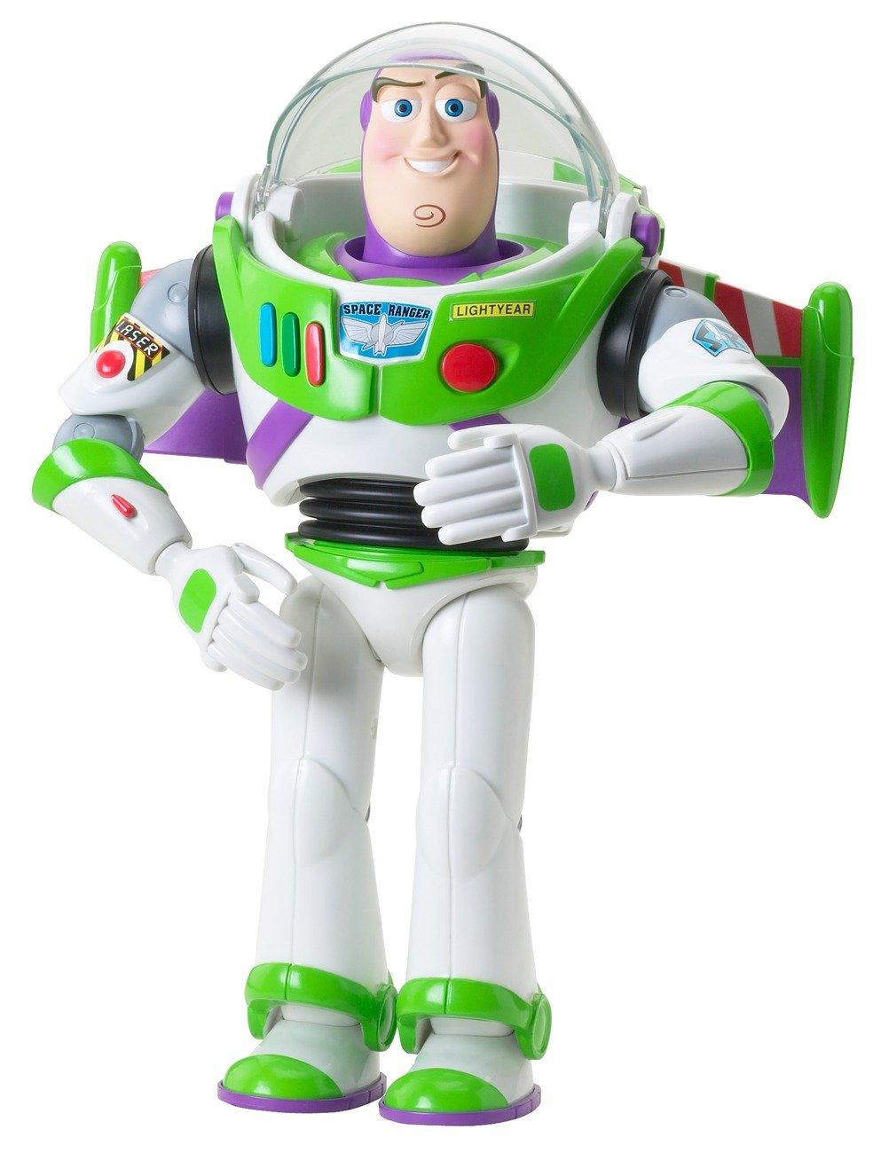 Toy Story - Buzz Lightyear articulado (Mattel R7216): Amazon.es: Juguetes y juegos