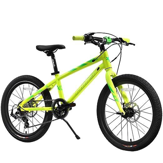 ETZXC Bicicleta Infantil de competición Maratón de Bicicleta para ...