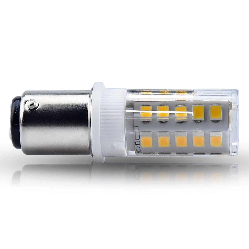 Bonlux BA15D LED Birne 3.5W Doppelt Punkt Bajonett 350Lumen AC/DC24V ...