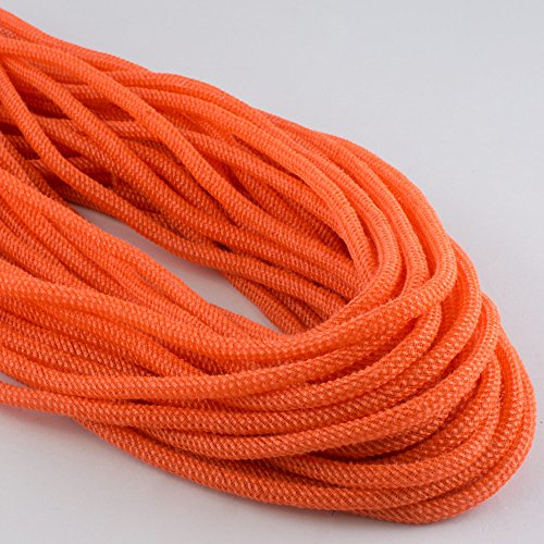 (Faux Jute Deco Flex Tubing Ribbon Orange Fall & Halloween (30 Yards) Contains 3 Strands Of Tubing At 10 Yards)