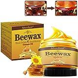 Wood Seasoning Beewax, Wood Furniture Polish Beewax, Multipurpose Natural Wood Wax Traditional Beeswax Polish for…