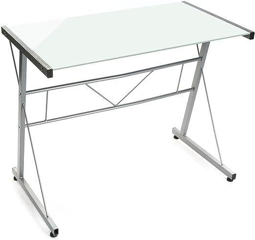 Versa - Mesa ordenador blanca: Amazon.es: Hogar