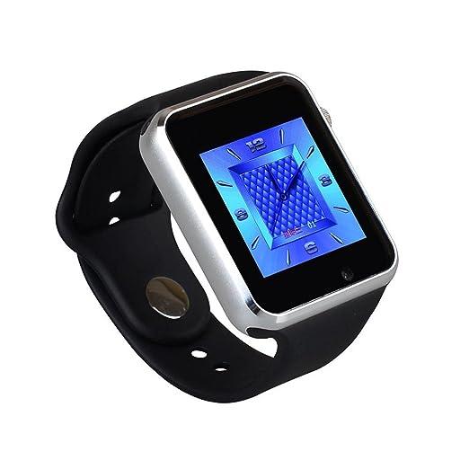 Inteligente Reloj Bluetooth W8 Soporte Whatsapp Con TF tarjeta SIM cámara reloj de pulsera para Android