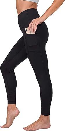 90 Degree by Reflex ACTIVE LEGGING Yoga//Athletic BLACK Girls size 7//8 /& 12 10