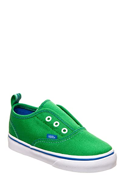 Vans Authentic, Zapatillas De Lona Infantil, Verde (Green), 26 EU