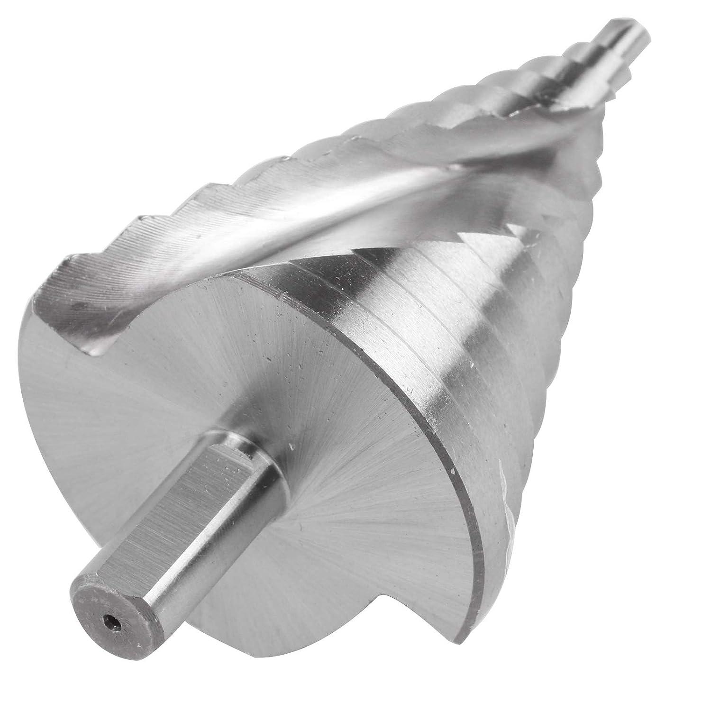 AllRight HSS Stufenbohrer 6-60mm Sch/älbohrer Konusbohrer Kegelbohrer f/ür Metall Holz und Kunststoff