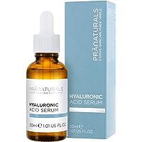 PraNaturals Hyaluronzuur gezichtsserum - Vermindert fijne lijntjes en rimpels, Verrijkt met natuurlijke oliën en…