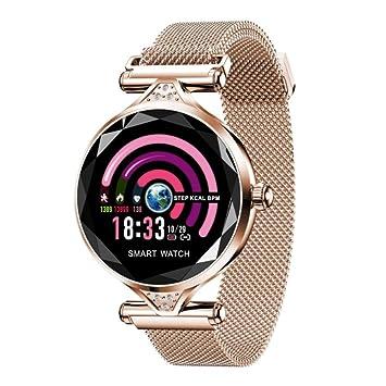 XYZY Mujer Reloj Inteligente Periodo Fisiologico Salud Monitoreo Monitor de Actividad HD Pantalla a Color Frecuencia CardiacaDormir Monitoreo IP67 Pulsera ...