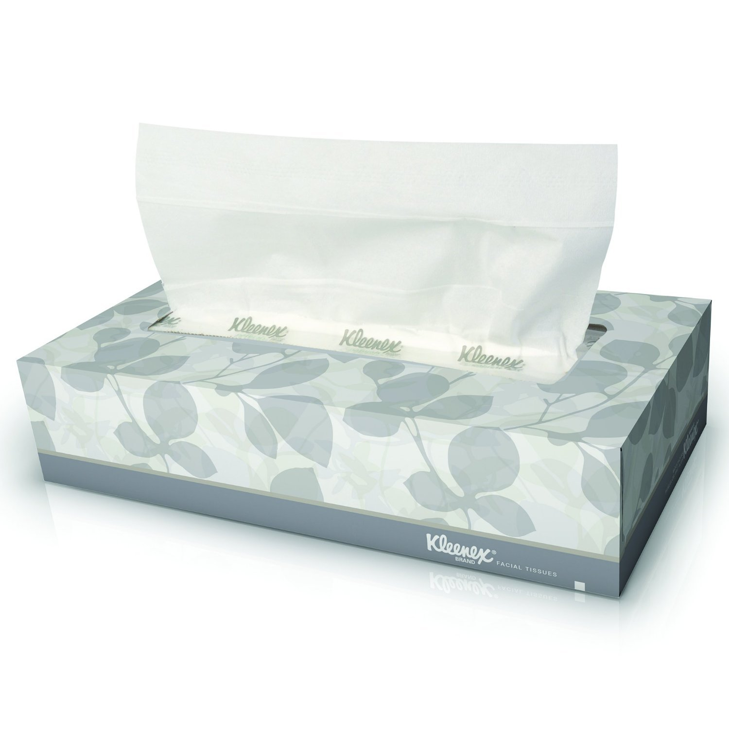Kleenex Facial Tissue (03076) Wkflhz, Flat Tissue Boxes, (125 Tissues Per Box) - 36 Boxes Total
