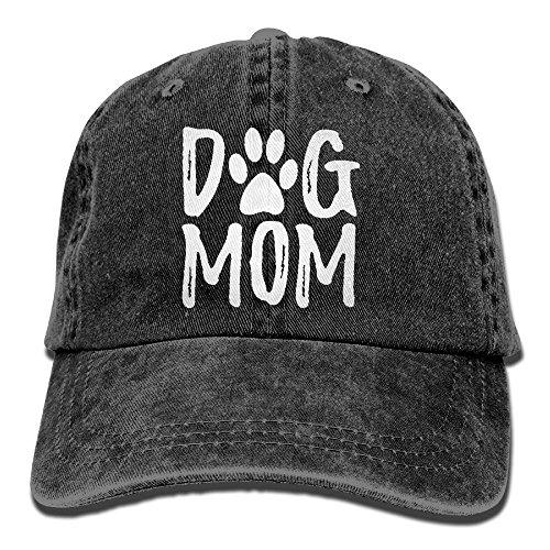 omized Unisex Dog Mom Vintage Jeans Adjustable Baseball Cap Cotton Denim Dad Hat ()