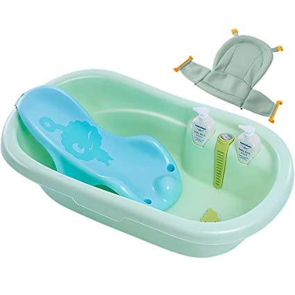 PIGE Asiento de baño para bebé Asiento de bañera, bañera de Malla ...