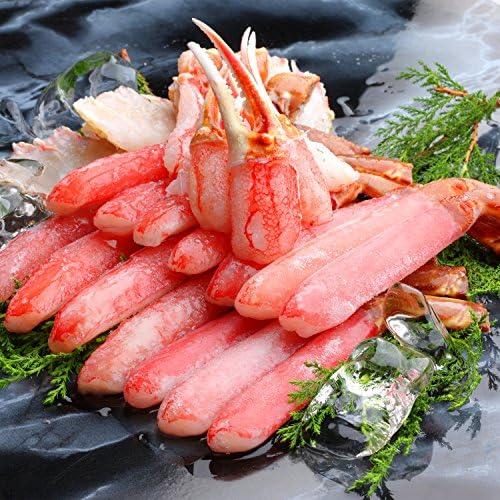 生 ズワイガニ 【 笑顔の食卓 匠 】 生ずわい蟹 「かにしゃぶ」むき身満足セット 4kg超