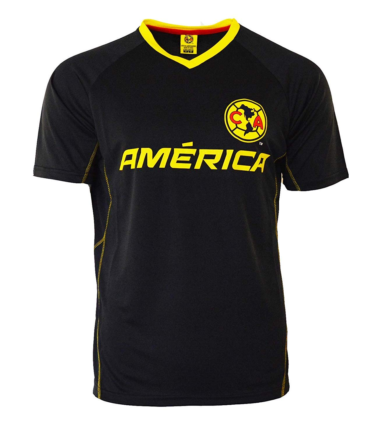 8d9ae0e70d5 Amazon.com   Icon Sport Club America Soccer Jersey Mexico FMF Adult  Training Custom Name and Number   Clothing