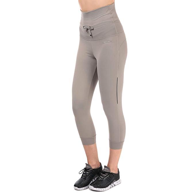 adidas - Pantalón - para Mujer Gris Blanco 36/38: adidas ...