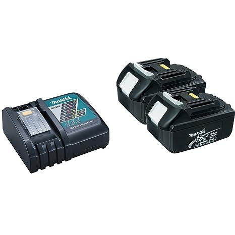 Amazon.com: Makita DC18RC iones de litio Cargador de batería ...