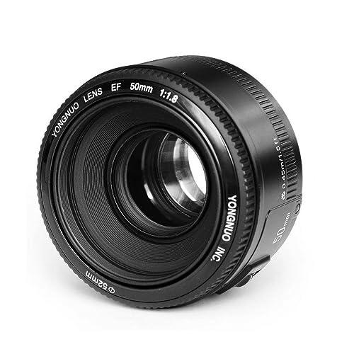 Yongnuo EF YN 50mm F/1.8 1:1.8 Standard Prime Lens for Canon Rebel Digital Camera