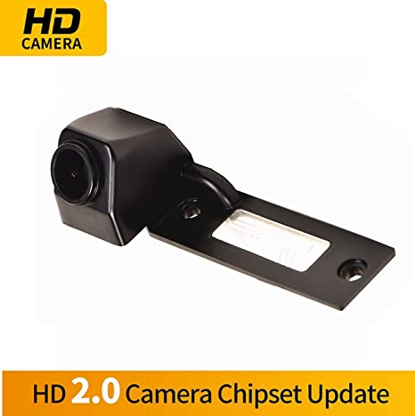 for VW Caddy Touran California Passat Transporter Caravelle T5 Misayaee Rear View Back Up Reverse Parking Camera in License Plate NTSC