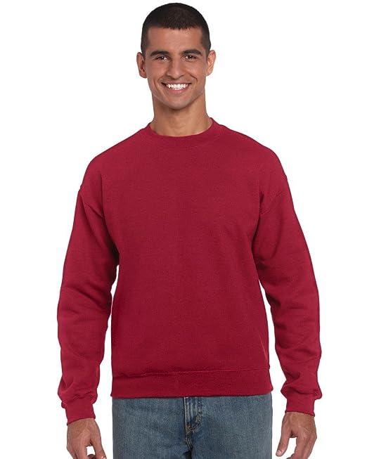 96957e48 Gildan Heavy BlendTM Adult Crew Neck Sweatshirt: Amazon.co.uk: Clothing