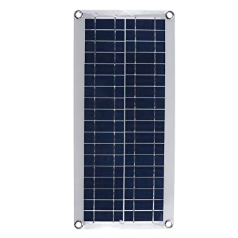 CCChaRLes 30W Dc 12V / 18V Panel Solar Doble 5V Puerto Usb ...