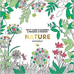 Le Petit Livre De Coloriage Nature Amazon Fr Collectif Livres