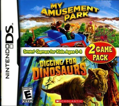 My Amusement Park/Digging for Dinosaurs - Game Pack - Nintendo DS by COKeM International: Amazon.es: Videojuegos