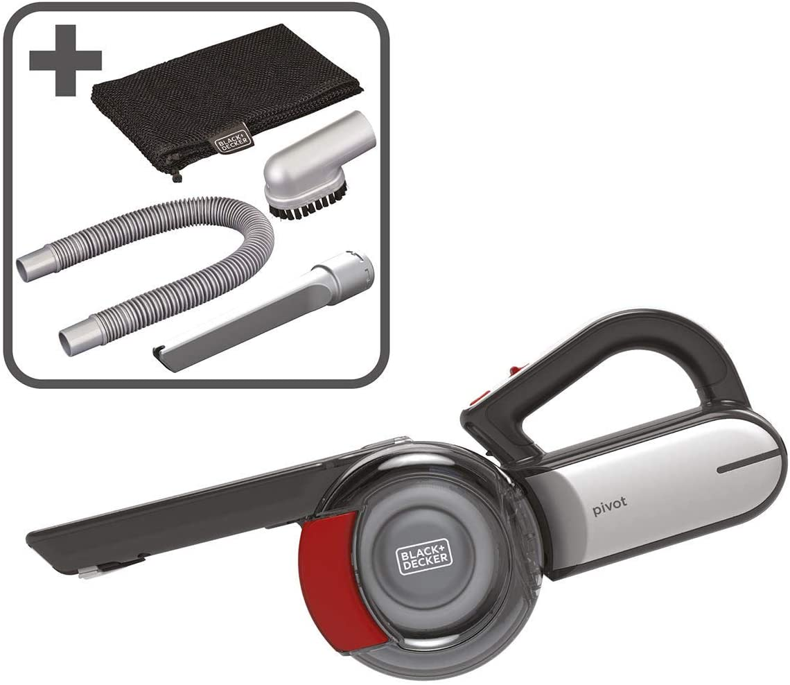Black + Decker Dustbuster - Aspiradora inalámbrica para coche (18 ...